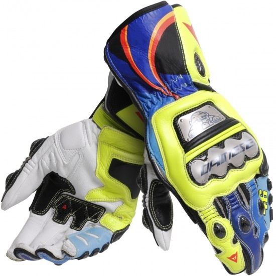 DAINESE Full Metal 6 Replica Rossi VR46 Gloves