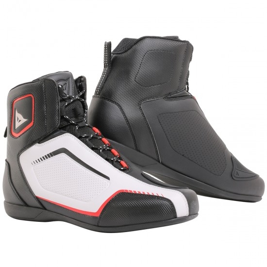 Bottes DAINESE Raptors Air Black / White / Red-Lava