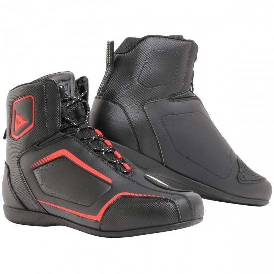 DAINESE Raptors Black / Black / Fluo-Red Boots