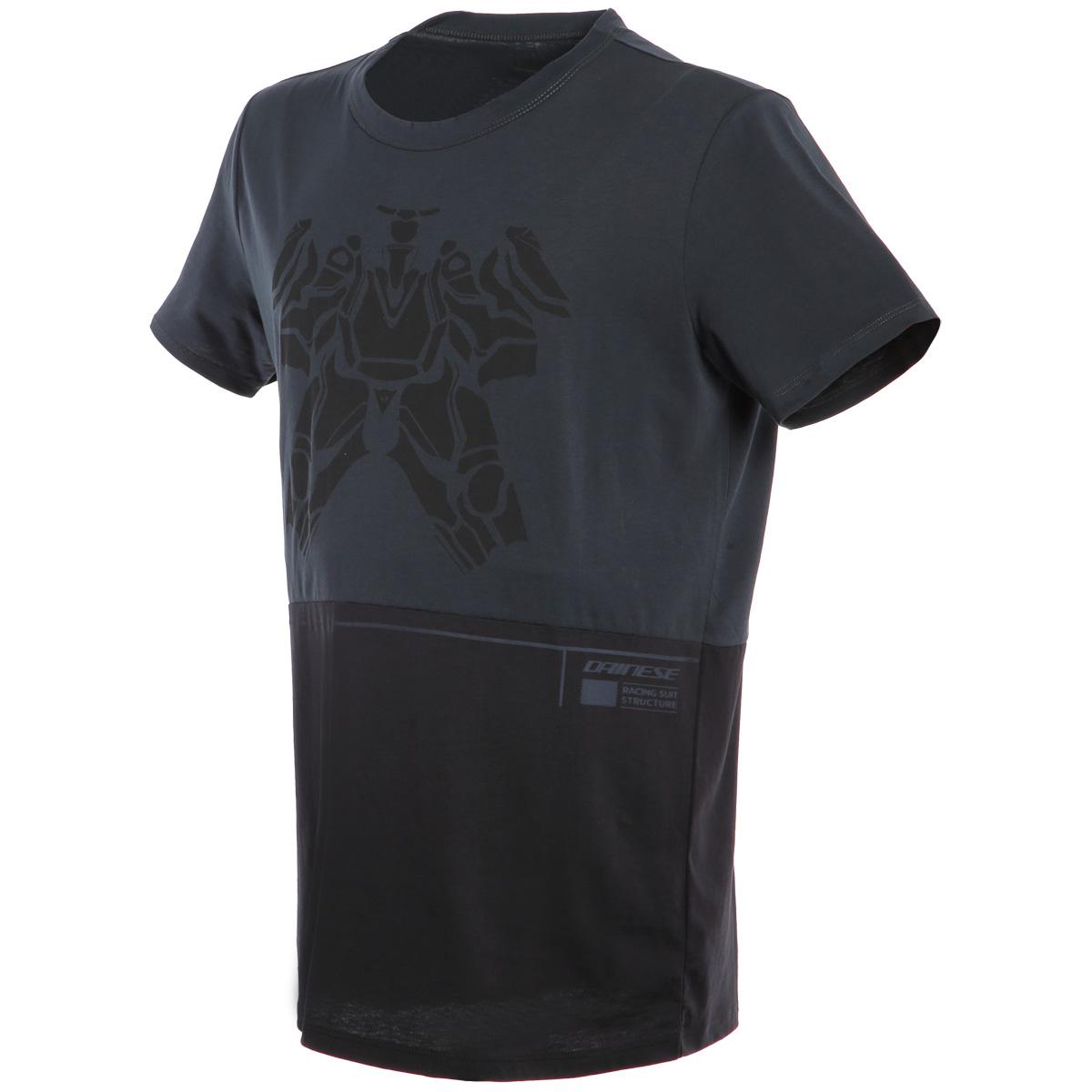 Camiseta DAINESE Laguna Seca Grey / Black