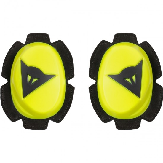 DAINESE Pista Knee Fluo-Yellow / Black Sliders