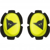 DAINESE Pista Knee Fluo-Yellow / Black