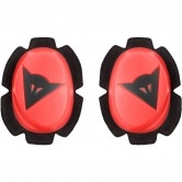 Pista Knee Fluo-Red / Black