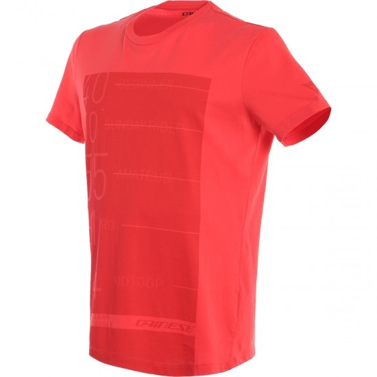 Camiseta DAINESE Lean – Angle Red
