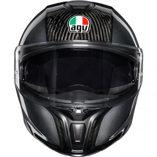 Casco AGV Sportmodular Carbon / Dark Grey