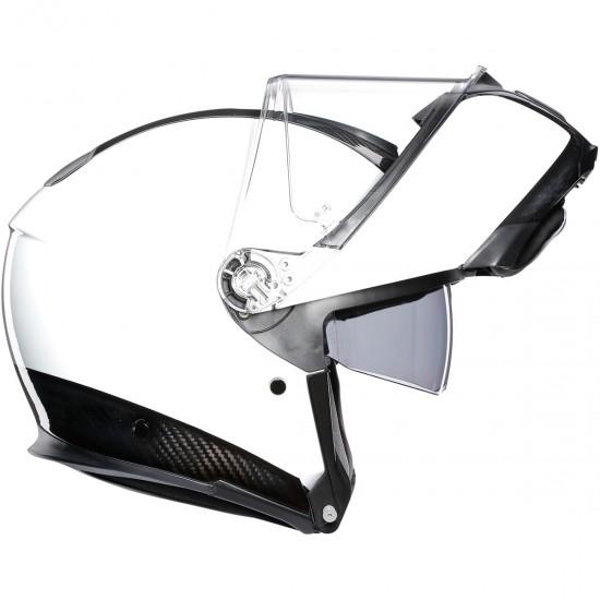 Casco AGV Sportmodular Carbon / White
