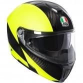 AGV Sportmodular Hi-Vis Carbon-Yellow Fluo