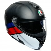 AGV Sportmodular Layer Carbon / Red / Blue