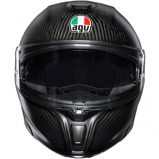 Helm AGV Sportmodular Matt Carbon