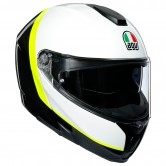 AGV Sportmodular Ray Carbon / White / Yellow Fluo