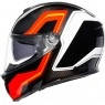 Casco AGV Sportmodular Sharp Carbon / Red / White