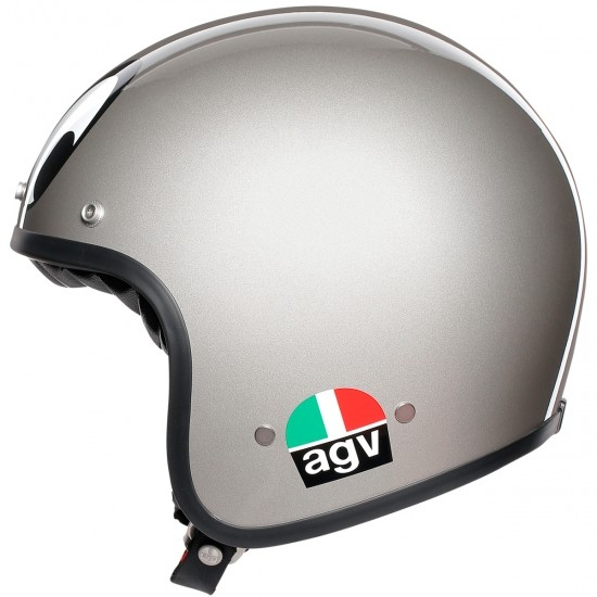 AGV X70 Montjuic Silver Helmet