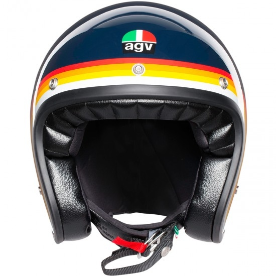 Casco AGV X70 Riviera Blue / Rainbow