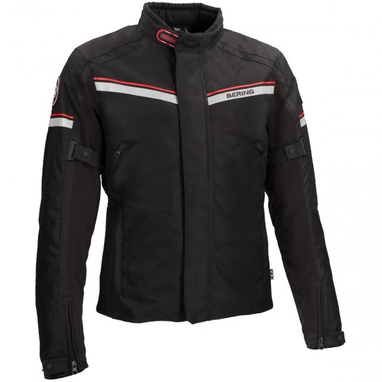BERING Greenwich Black / Anthracite / Red Jacket