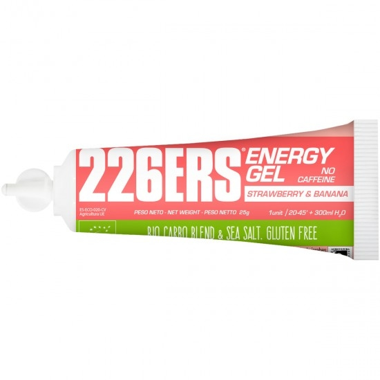 Nutrition 226ERS Energy Gel Bio 25gr. Strawberry & Banana