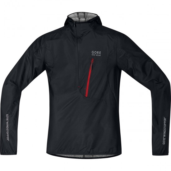 Jacke GORE Rescue Windstopper Active Shell Black