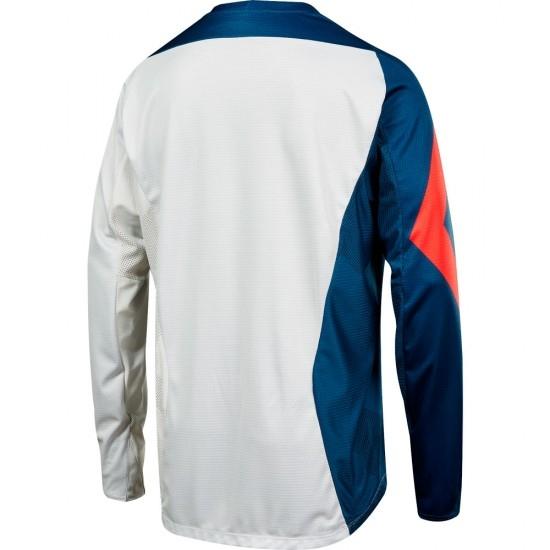 Camiseta FOX Demo L/S 2018 Preme Blue / Red