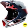 FOX Proframe 2018 Drafter Cloud Grey Helmet