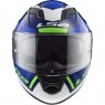 Casco LS2 FF320 Stream Evo Axis Blue / White