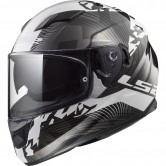 LS2 FF320 Stream Evo Hype Black / White / Titanium