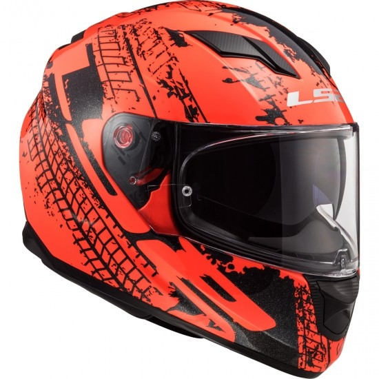Casco LS2 FF320 Stream Evo Lava Fluo Orange / Black