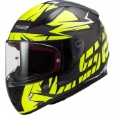 FF353 Rapid Cromo Matt Black H-V Yellow