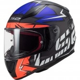 LS2 FF353 Rapid Cromo Matt Fluo Orange / Blue