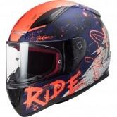 FF353 Rapid Naughty Matt Blue / Fluo Orange