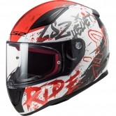 LS2 FF353 Rapid Naughty White / Red