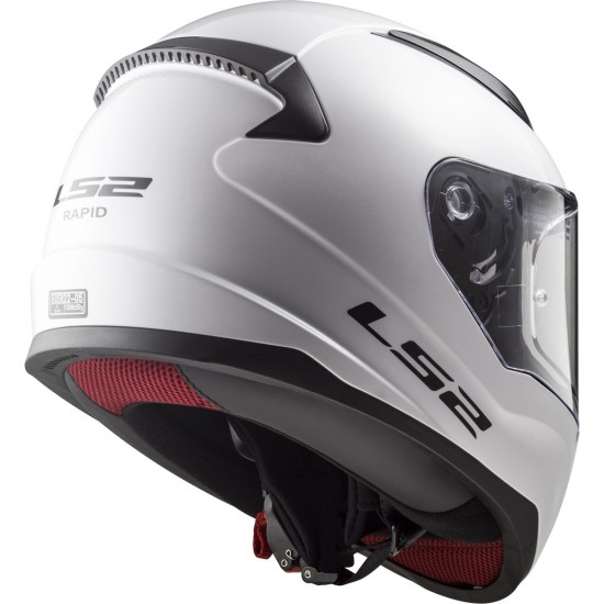 Helm LS2 FF353 Rapid White