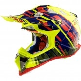 LS2 MX470 Subverter Bomber H-V Yellow / Blue / Red