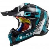 MX470 Subverter Max Black / Turquoise