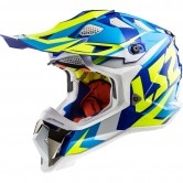 LS2 MX470 Subverter Nimble White / Blue / H-V Yellow