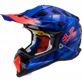 MX470 Subverter Troop Matt Blue / Fluo Orange