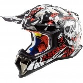 LS2 MX470 Subverter Voodoo Black / White / Red