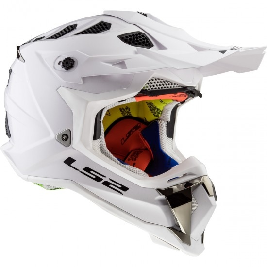 Casque LS2 MX470 Subverter White