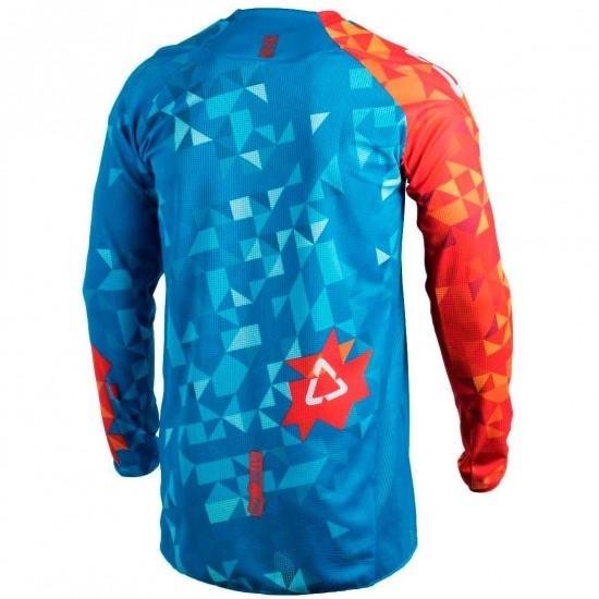 Camiseta LEATT GPX 4.5 Lite 2018 Blue / Red