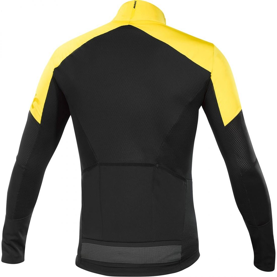 3acca9de8b7 Bike Trikot MAVIC Cosmic Pro Wind Black / Yellow Mavic · Motocard