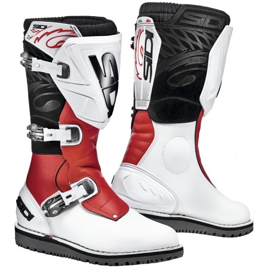 Botas SIDI Trial Zero.1 White / Red