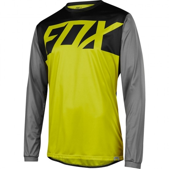 Maillot FOX Ranger LS 2018 Dark Yellow