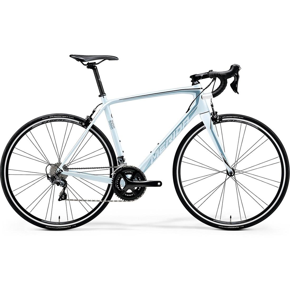 Rennrad Merida Scultura 5000 2018 White Blue Black