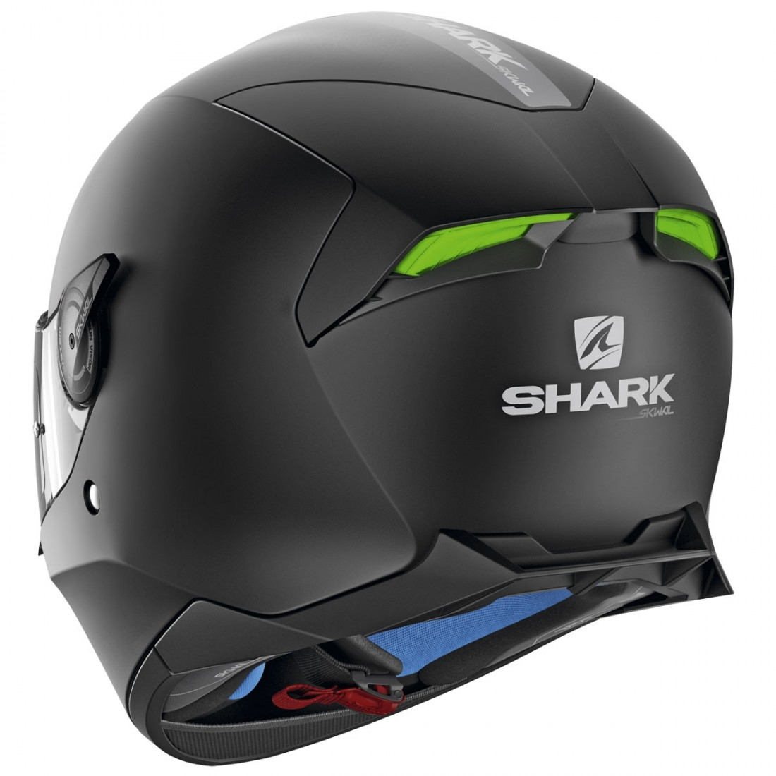 Shark Skwal 2 Blank Mat Black Helmet Motocard