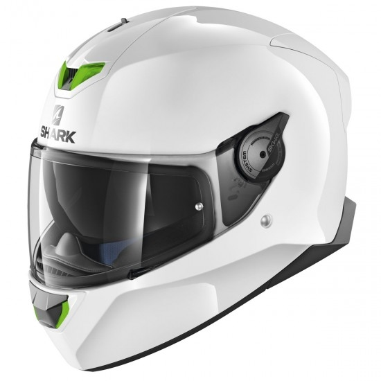 Casco SHARK Skwal 2 Blank White Azur