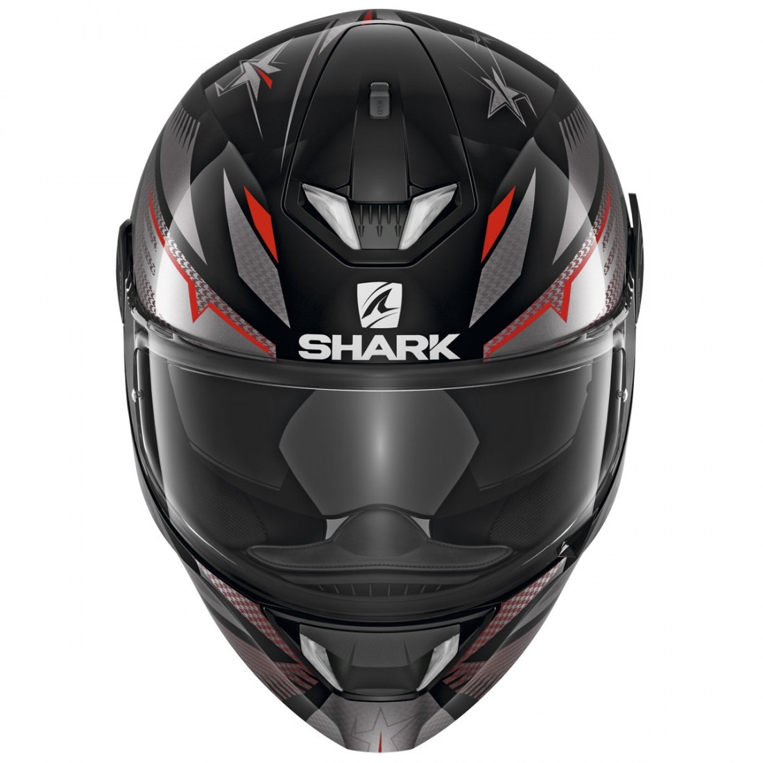 casco shark skwal 2 draghal black anthracite red. Black Bedroom Furniture Sets. Home Design Ideas