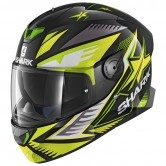 SHARK Skwal 2 Draghal Black / Green / Yellow