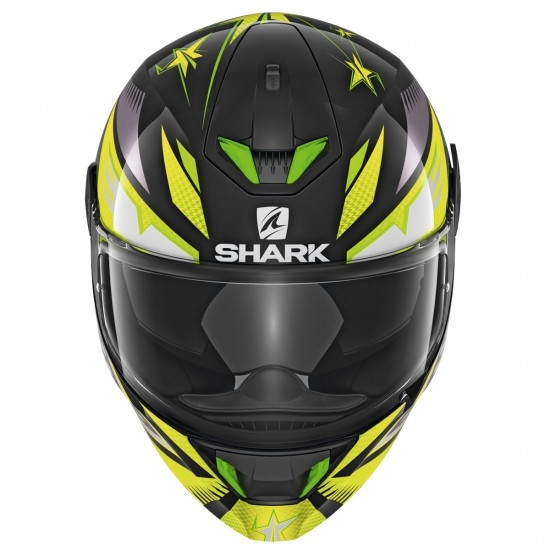 Casque SHARK Skwal 2 Draghal Black / Green / Yellow