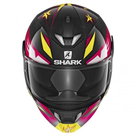 Helm SHARK Skwal 2 Draghal Black / Violet / Yellow