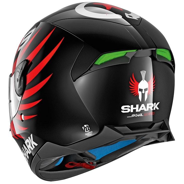 shark skwal 2 lorenzo black white red helmet motocard. Black Bedroom Furniture Sets. Home Design Ideas