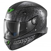 SHARK Skwal 2 Switch Riders 2 Mat Black / Anthracite / Silver