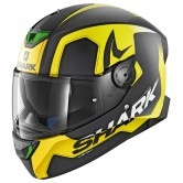 SHARK Skwal 2 Trion Mat Black / Yellow